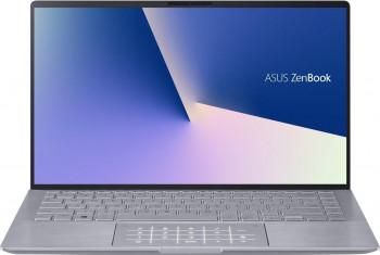Ultrabook ASUS ZenBook 14 UM433IQ AMD Ryzen 5 4500U 1TB SSD 8GB NVIDIA GeForce MX350 2GB FullHD Tastatura iluminata Light Grey Laptop laptopuri