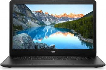 Laptop Dell Inspiron 3793 Intel Core (10th Gen) i3-1005G1 1TB HDD 4GB FullHD Linux DVD-RW Black