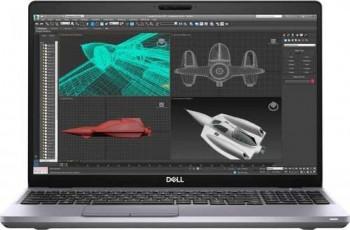 Laptop Dell Mobile Precision 3551 Intel Core (10th Gen) i9-10885H 1TB+256GB SSD 16GB Nvidia Quadro P620 4GB FullHD Linux T. ilum.