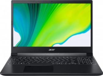 Laptop Gaming Acer Aspire 7 A715-41G AMD Ryzen 5 3550H 512GB SSD 8GB NVIDIA GeForce GTX 1650 4GB FullHD Linux FPR Black Laptop laptopuri
