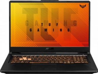 Laptop Gaming ASUS FA706IU AMD Ryzen 9 4900H 512GB SSD 8GB GeForce GTX 1660 Ti 6GB FullHD 120Hz Tast. ilum. Bonfire Black Laptop laptopuri