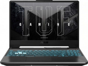 Laptop Gaming ASUS TUF A15 FA506QM AMD Ryzen 7 5800H 512GB SSD 16GB GeForce RTX 3060 6GB FullHD 144Hz Endless Tast. ilum. Graphite Black