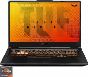 Laptop Gaming ASUS TUF A17 FA706IU AMD Ryzen 7 4800H 512GB SSD 8GB GeForce GTX 1660 Ti 6GB FullHD 120Hz Bonfire Black Laptop laptopuri