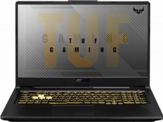 Laptop Gaming ASUS TUF A17 FA706IU AMD Ryzen 7 4800H 512GB SSD 8GB GeForce GTX 1660Ti 6GB FullHD 120Hz Tast. ilum. Fortress Gray