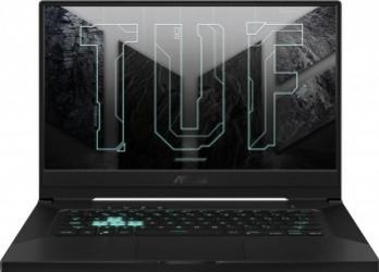Laptop Gaming ASUS TUF Dash F15 FX516PR Intel Core (11th Gen) i7-11370H 1TB SSD 16GB GeForce RTX 3070 8GB FullHD 240Hz Endless T. il. Gray Laptop laptopuri