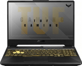 Laptop Gaming ASUS TUF F15 Intel Core (10th Gen) i5-10300H 512GB SSD 8GB GeForce GTX 1650 Ti 4GB FullHD Endless RGB Grey