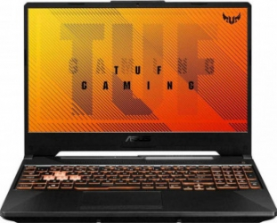 Laptop Gaming ASUS TUF F15 FX506LU Intel Core 10th Gen i7-10870H 1TB SSD 16GB GeForce GTX 1660Ti 6GB FullHD Endless RGB Bonfire Black Laptop laptopuri