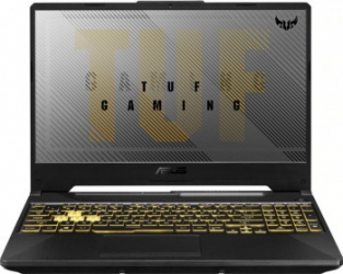 Laptop Gaming ASUS TUF Gaming F15 FX506LU Intel Core (10th Gen) i7-10870H 512GB SSD 8GB GTX 1660Ti 6GB FullHD Tast. ilum. Fortress Gray