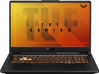 Laptop Gaming ASUS TUF Gaming F17 FX706LI Intel Core (10th Gen) i5-10300H 512GB SSD 8GB GTX 1650 Ti 4GB FullHD Endless RGB Bonfire Black Laptop laptopuri