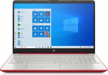 Laptop HP 15-DW1083 Intel Pentium Gold 6405U 128GB SSD 4GB HD Win10 Scarlet Red Laptop laptopuri
