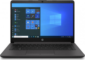 Laptop HP 240 G8 Intel Core (10th Gen) i5-1035G1 256GB SSD 8GB FullHD Win10 Pro Dark Ash Silver Laptop laptopuri