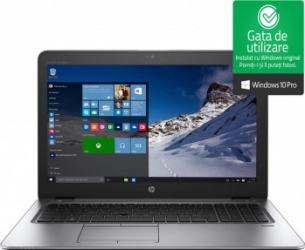 Laptop HP EliteBook 850 G3 Intel Core i5-6300U 2.40GHz 15.6 Full HD 8GB 256GB SSD Intel HD Webcam Windows 10 Pro Refurbished Laptopuri Renew  Refurbished