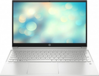 Laptop HP Pavilion 15-eg0072nq Intel Core (11th Gen) i7-1165G7 256GB SSD 8GB Intel Iris Xe FullHD Tast. ilum. Natural Silver Laptop laptopuri