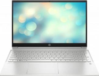 Laptop HP Pavilion 15-eg0084nq Intel Core (11th Gen) i5-1135G7 256GB SSD 8GB Iris Xe FullHD Tast. ilum. Natural silver Laptop laptopuri