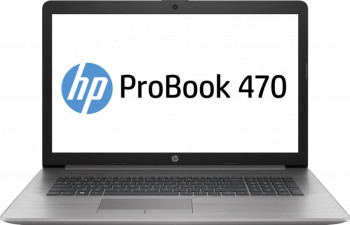 Laptop HP ProBook 470 G7 Intel Core (10th Gen) i7-10510U 256GB SSD 8GB AMD Radeon 530 2GB FullHD Tast. ilum. Silver Laptop laptopuri