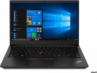 Laptop Lenovo ThinkPad E14 Gen 2-ARE T AMD Ryzen 7 4700U 512GB SSD 16GB FullHD FPR Tast. ilum. Black Laptop laptopuri
