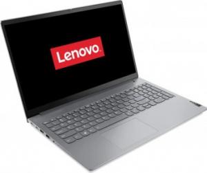 Laptop Lenovo ThinkBook 15 G2 ITL Intel Core (11th Gen) i5-1135G7 256GB SSD 8GB FullHD FPR Tast. ilum. Mineral Grey Laptop laptopuri