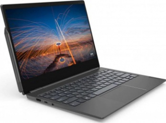 Laptop Lenovo ThinkBook Plus IML Intel Core (10th Gen) i5-10210U 512GB SSD 16GB FullHD Win10 Pro Tast. ilum. FPR Iron Grey Laptop laptopuri