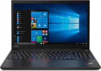 Laptop Lenovo ThinkPad E15 G2 Intel Core (11th Gen) i7-1165G7 512GB SSD 16GB NVIDIA GeForce MX450 2GB FullHD Win10 Pro FPR Tast. ilum. Black