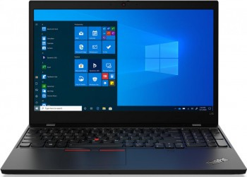Laptop Lenovo ThinkPad L15 G1 Intel Core (10th Gen) i7-10510U 512GB SSD 16GB FullHD Win10 Pro Tast. ilum. FPR Black Laptop laptopuri