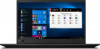 Laptop Lenovo ThinkPad P1 G3 Intel Core (10th Gen) i7-10850H 512GB SSD 16GB NVIDIA Quadro T1000 Max-Q 4GB FullHD Tast. ilum. FPR Black