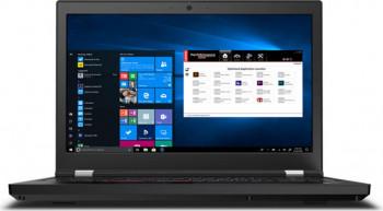 Laptop Lenovo ThinkPad P15 G1 Intel Core (10th Gen) i7-10875H 1TB SSD 32GB NVIDIA Quadro T2000 4GB FullHD Win10 Pro Tast. il. FPR LTE Black Laptop laptopuri