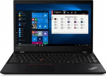 Laptop Lenovo ThinkPad P15s G1 Intel Core (10th Gen) i7-10610U 1TB SSD 16GB NVIDIA Quadro P520 2GB FullHD Win10 Pro FPR T.il. LTE Black Laptop laptopuri