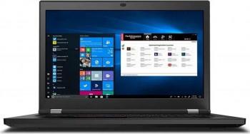 Laptop Lenovo ThinkPad P17 G1 Intel Core (10th Gen) i7-10750H 512GB SSD 16GB NVIDIA Quadro T2000 4GB FullHD Win10 Pro FPR Tast. ilum. Black Laptop laptopuri