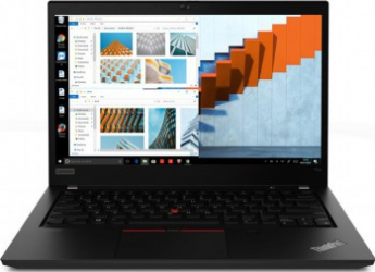 Laptop Lenovo ThinkPad T14 G1 Intel Core (10th Gen) i5-10210U 256GB SSD 8GB FullHD Win10 Pro Tast. ilum. FPR Black Laptop laptopuri
