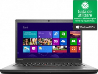Laptop Lenovo ThinkPad T440p Intel® Core™ i5-4200M 2.50GHz 8GB SSD 240GB Intel® HD Graphics Webcam Microsoft Windows 10 Pro Refurbished Laptopuri Renew & Refurbished