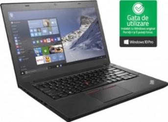 Laptop Lenovo ThinkPad T460 Intel Core i5-6200U up to 2.80GHz 8GB DDR3 500GB HDD 14inch Webcam Refurbished Win10 PRO Laptopuri Renew & Refurbished