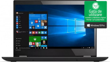 Laptop Lenovo YOGA 12 Intel Core i5-5300U 2.30GHz 8GB DDR3 240GB SSD 12.5 Touchscreen Webcam Windows 10 Pro Refurbished Laptopuri Renew  Refurbished