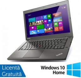 Laptop Refurbished LENOVO ThinkPad T440P Intel Core i5-4300M 2.60GHz 8GB DDR3 120GB SSD DVD-RW 14 Inch + Windows 10 Home Laptopuri Renew  Refurbished