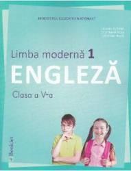 pret preturi Limba moderna 1. Engleza - Clasa 5 - Manual + CD - Liliana Putinei Cristina Mircea