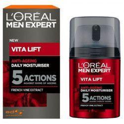 Lotiune anti-imbatranire LOreal Men Expert Vita Lift Anti-Ageing cu extract din vinuri frantuzesti FMD1111 Masti, exfoliant, tonice
