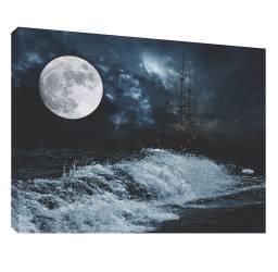 Luna 4 - Tablou canvas - 52x70 cm Tablouri