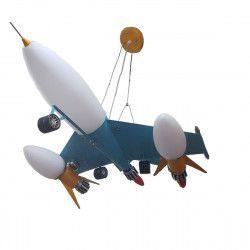 Lustra Full avion tip pendul Inaltime reglabila 3e14 3e27 h maxim 80 cm Corpuri de iluminat