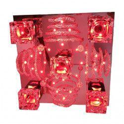 Lustra Full Electrics 2116/5 multicolora telecomanda 5e27 dulie ceramica leduri multicolor Corpuri de iluminat