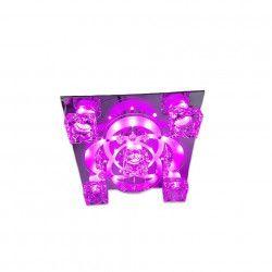 Lustra Full Electrics 8032/5 multicolora telecomanda 5e27 dulie ceramica leduri multicolors Corpuri de iluminat
