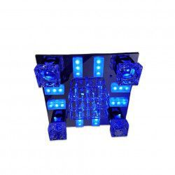 Lustra Full Electrics 8175/400 multicolora telecomanda 4e27 dulie ceramica leduri multicolor Corpuri de iluminat