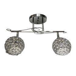Lustra Julia 6133/2 Full Electric magnet 2E27 brate reglabile cristal Corpuri de iluminat