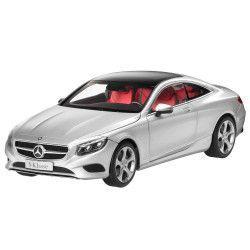 Macheta Auto Mercedes S-Class Coupe 1 18 Argintiu Cadouri