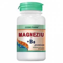 Magneziu 375mg + B6 Cosmo Pharm 30cpr