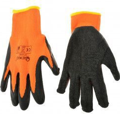 Manusi de iarna pentru protectie ORANGE marimea 8 Geko G73590