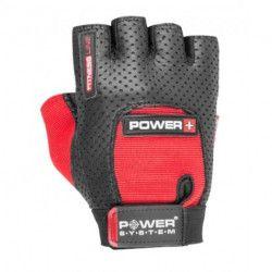Manusi sala gym fitness Power System Power PLUS 2500 Negru/Rosu Marimea L