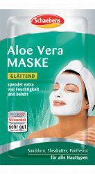 Masca de fata Aloe Vera Schaebens - hidrateaza si revigoreaza 2x5ml pentru 2 aplicari Masti, exfoliant, tonice