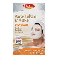 Masca de fata Anti Wrinkle Schaebens - efect imediat de reduce a ridurilor ofera elasticitate si hidrateaza 2x5ml pentru doua aplicari Masti, exfoliant, tonice