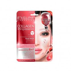 Masca de fata Eveline Cosmetics Collagen 8in1 Efect De Lifting 20 ml Masti, exfoliant, tonice