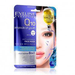 Masca de fata Eveline Cosmetics Q10 ANTI-RID 8in1 20 ml Masti, exfoliant, tonice