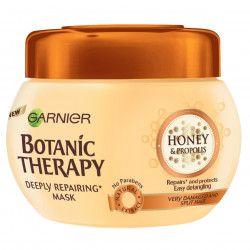Masca de par Garnier Botanic Therapy Honey and Propolis pentru par deteriorat cu varfuri despicate 300 ml Masti, exfoliant, tonice